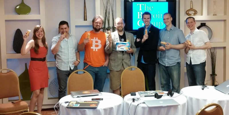 M.K. at Bitcoin in the Beltway with The Bitcoin Group
