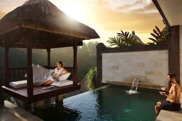 Relax at one of Viceroy Bali's many private pool villas.