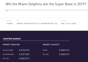 Example market on Augur for purchase