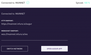 Connection setup in Augur