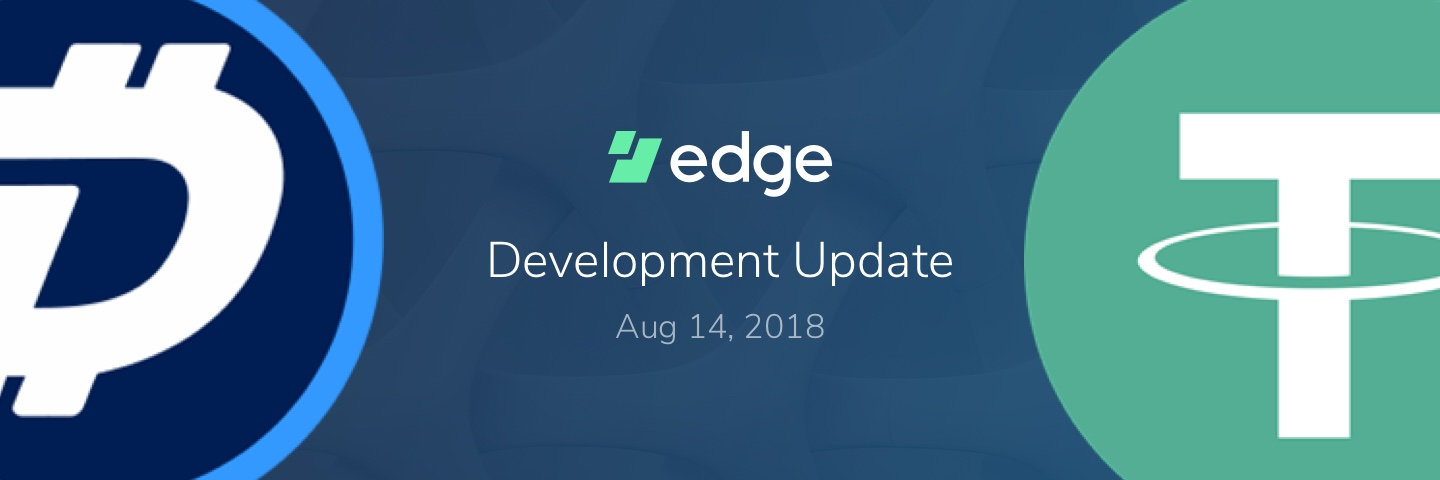 Edge | Edge welcomes Tether, Digibyte, Vertcoin, and Bitcoin Gold to